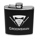 Bachelor Party Groomsman Flask ~ EL-8626-05