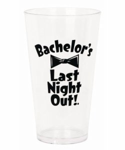 Bachelors Last Night Out Beer Pint ~ GFF-204